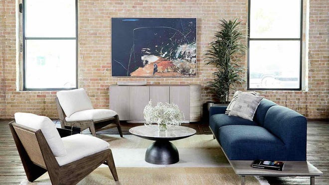 Amid the coronavirus pandemic, Austin-based Four Hands decided not to participate in the furniture industry's major trade shows. Instead, it rented Brazos Hall in downtown Austin and created a virtual showroom.