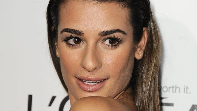 Lea Michele, shown last month, needed a friend after the death of Cory Monteith.