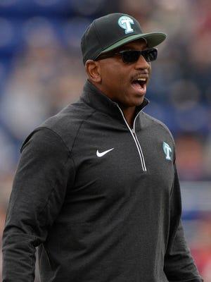 Tulane football coach Curtis Johnson is 15-33 in his fourth season as the Green Wave's head coach.