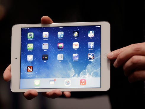 The iPad Mini.