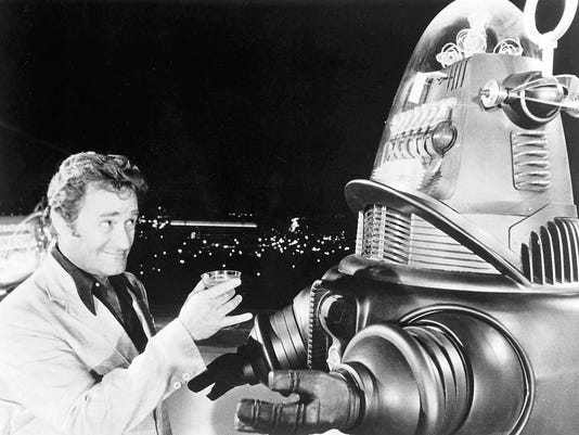 Dick Miller and Robby the Robot - HOLLYWOOD BLVD 01.jpg