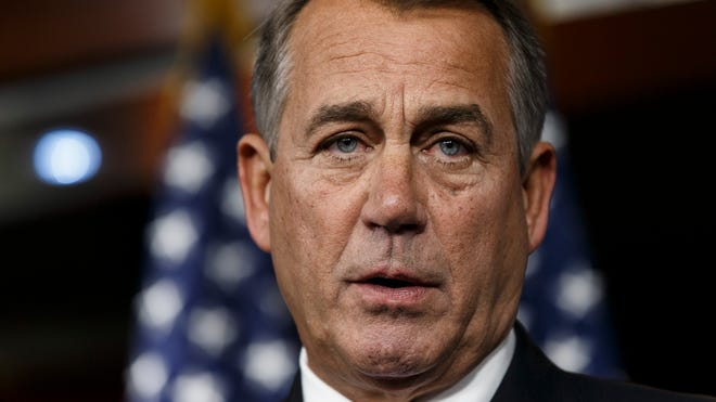 House Speaker John Boehner has not disclosed whether he supports Rep. Kevin McCarthy or Rep. Paul Labrador in their bids to fill Eric Cantor's House majority leader spot.