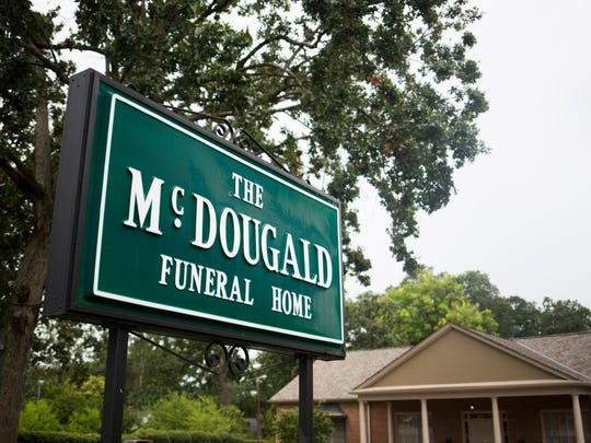 Best of Your Hometown Best Funeral Home service. The McDougald Funeral Home in Anderson.