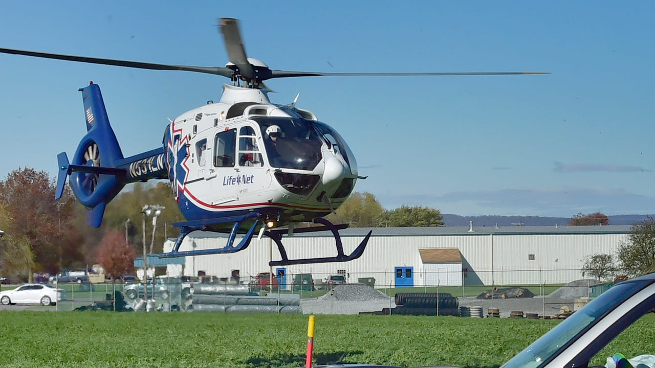 One person was flown to a trauma center following a Chambersburg area accident on Monday around 1:30pm. Two-vehicles collided near the intersection of Sunset Blvd. and U.S. 11 north (Philadelphia Avenue).