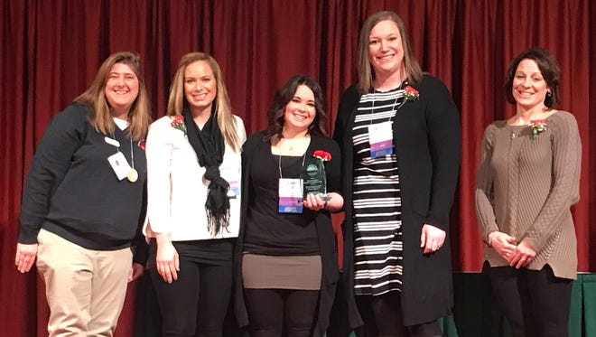 The Oshkosh North High School counseling team was named the 2018 School Counseling Team of the Year Wednesday, Feb. 21, 2018, during the Wisconsin School Counseling Association's annual conference in Madison.