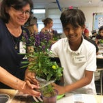 Social Scene: Calusa Garden Club meets with TBE Junior Gardeners