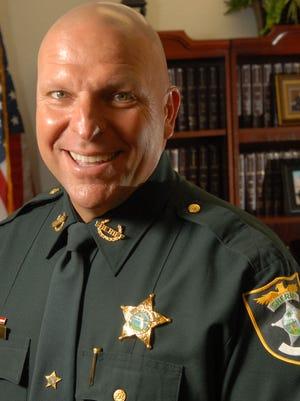 Lee County Sheriff Mike Scott