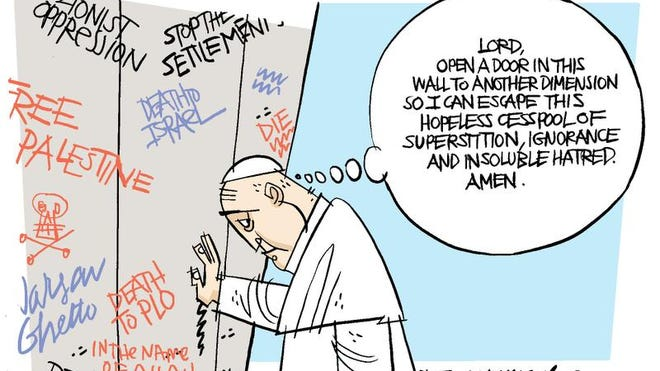 Pope visits Middle East