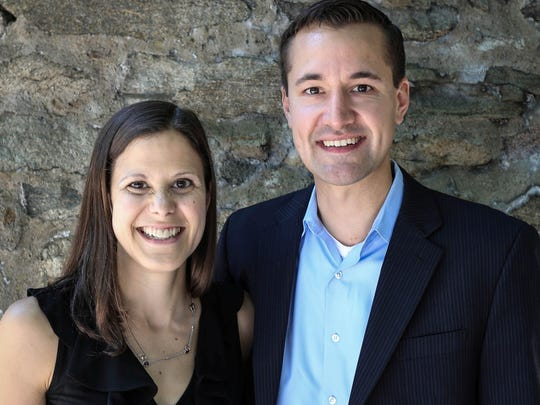 Husband-and-wife real estate team Christina and Jeremy Gulish, head the Gulish Group within Keller Williams Metropolitan in Morristown.