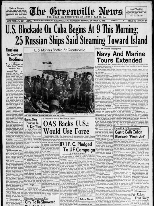 the naval blockade of cuba history essay Kennedy took the decision to blockade cuba in order to find a non passive, yet non aggressive solution to the problem of the cuban missile crisis there were many positives in choosing the blockage a ban on the soviet union bringing in any further military supplies to cuba, enforces by the us who would stop and search soviet ships.