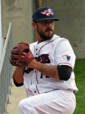 Starting pitcher Will Oliver is back with the Somerset Patriots.