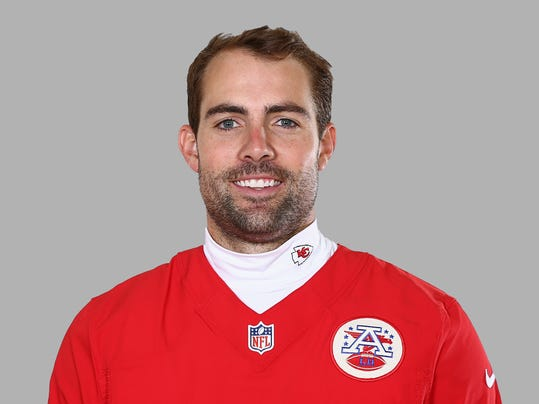 "FILE - This is a 2014, file photo showing Ryan Succop of the Kansas City Chiefs NFL football team. Veteran kicker Succop has agreed to a one-year deal with the Tennessee Titans who chose to go with experience rather than an undrafted rookie. Agent Joel Turner said Monday, Sept. 1, 2014,  that Succop is happy with a ""very good opportunity in a fine organization.""  (AP Photo/File)"