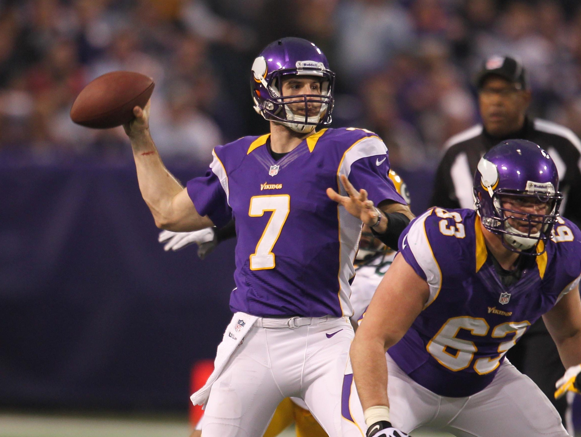 27. Christian Ponder, Minnesota Vikings