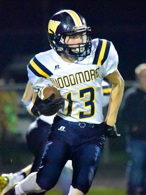 Woodmore's Taityn Rollins is a returning starter at receiver and cornerback.