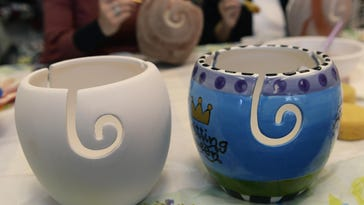 Handmade: The Painted Pot fills yarn bowl with color