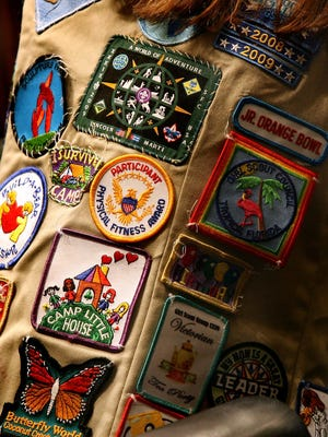 Girl Scouts patches