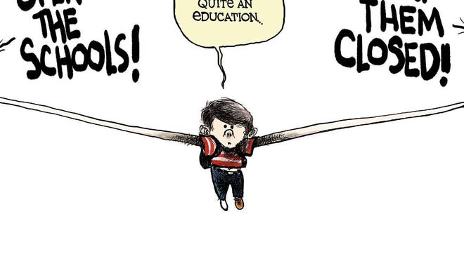 Cartoon by Scott Stantis