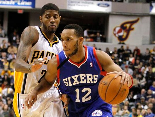 Paul George Evan Turner Pacers