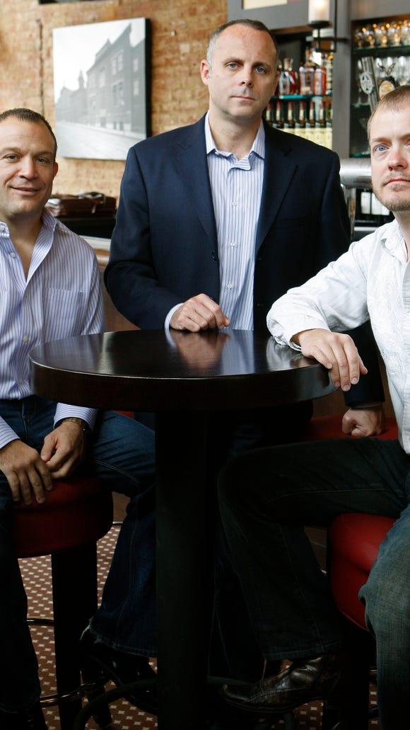 Four Entertainment Group managing partners Bob Deck,