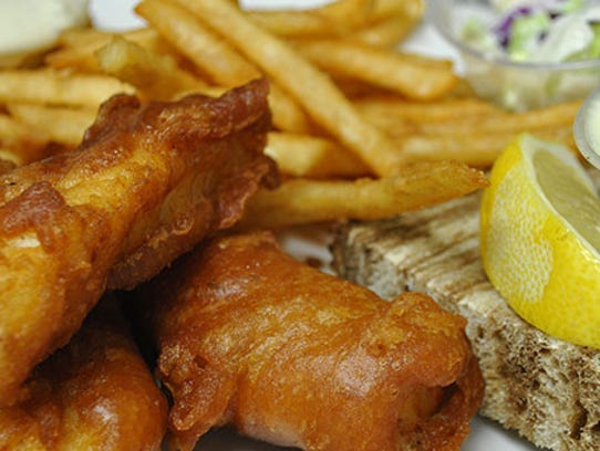 The Bay prides itself on offering a diverse menu with quality cuisine, including its fish fry.