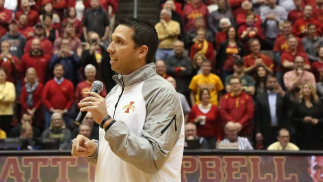 New Iowa State football coach is tinkering with the idea of rebranding the Cyclone program, and a piece of that equation is new uniforms.