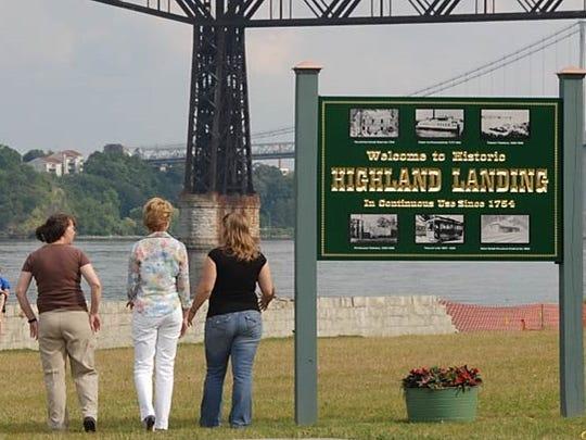 Highland Landing Park is a 2-acre shoreline park at