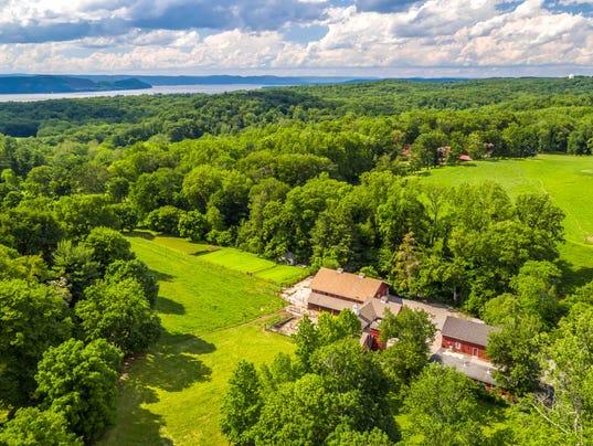 Hudson Pines barns