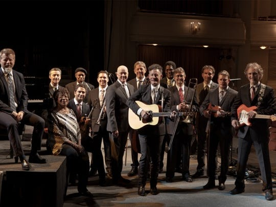 Lyle Lovett and his Big Large Band will headline a