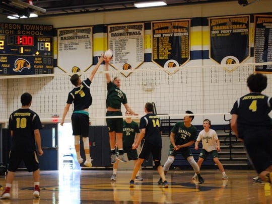 The Ramapo boys volleyball team had a 16-3 overall record in 2017, including 12-0 in the Big North Freedom to claim the division championship.