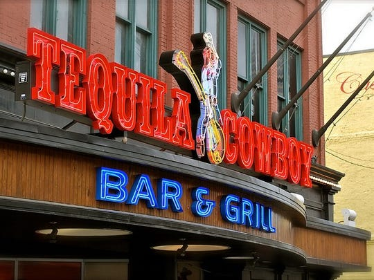 Tequila Cowboy Bar & Grill is located at the North