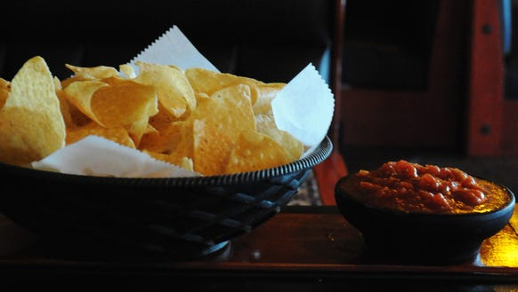 Chips and Salsa at Posados Cafe are pictured in this 2009 Advertiser file photo.