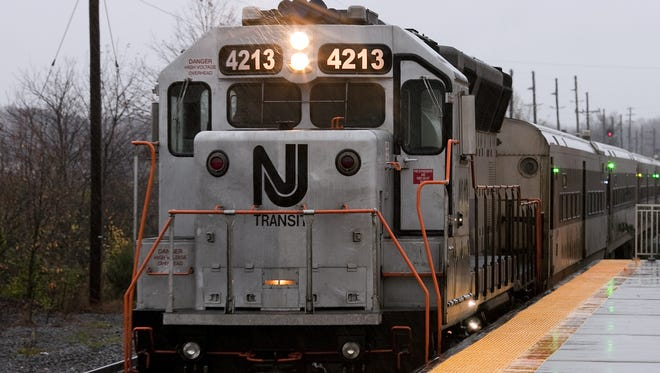 New Jersey Transit has suspended rail service between Atlantic City and Cherry Hill due to a collision with a car.