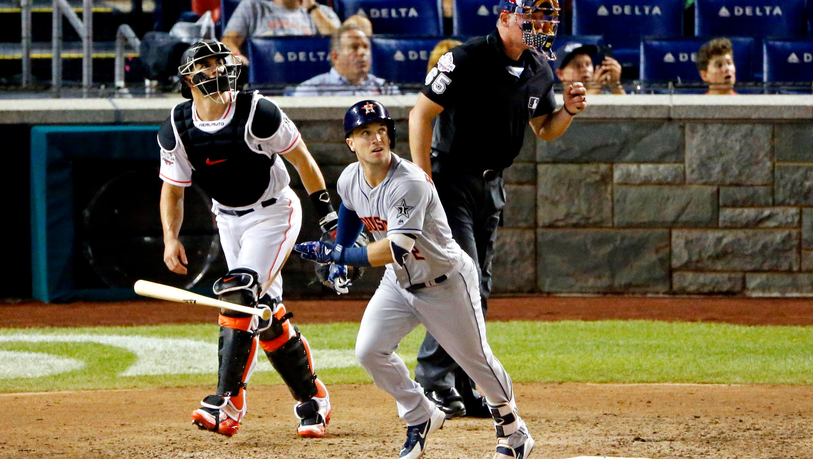 Mlb All Star Game Al Prevails In Extras Game Sets Record With  Homers
