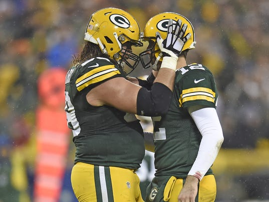 Green Bay Packers David Bakhtiari GAME Jerseys