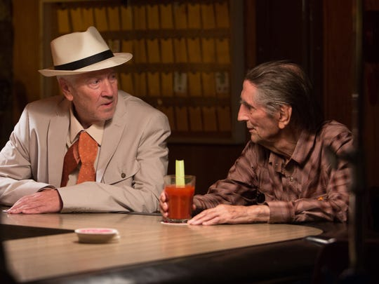 "David Lynch and Harry Dean Stanton in ""Lucky,"" a Magnolia Pictures release."