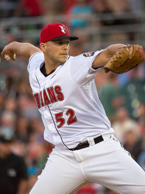 Justin Masterson has featured seven times for the Indians this season with a 4.58 ERA.