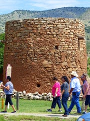 The torreon, where settlers hid behind thick walls and fired at marauders through rifle slits always draws the curious.