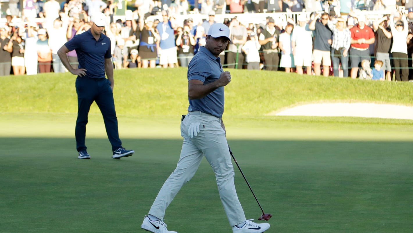 Sunday's golf: Five playoff holes not enough for Day, Noren