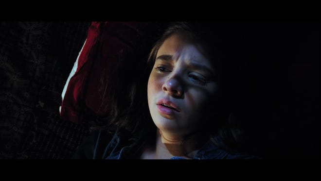 """A still from 18-year-old Asheville high grad Kira Bursky's """"Tree Hugger,"""" which has been selected for the 2015 Short Film Corner at the Cannes Film Festival."""