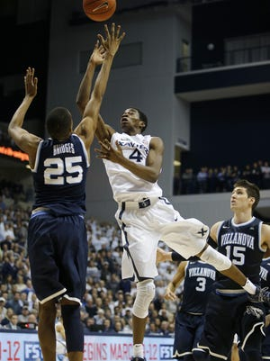 Xavier's Edmond Sumner scored 19 points against Villanova in the Musketeers' win at the Cintas Center Wednesday, February 24, 2016. Xavier won 90-83.