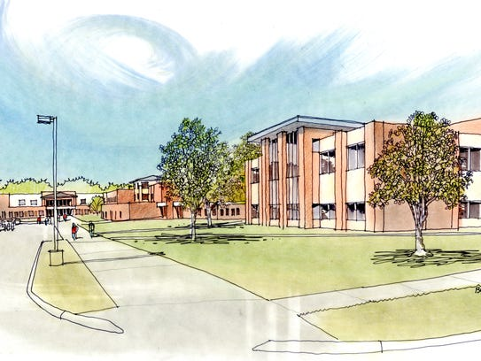 An initial drawing has been developed for a new Urbandale