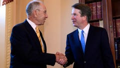 Republicans rally behind Chuck Grassley, Brett Kavanaugh at Faith and Freedom dinner in Des Moines
