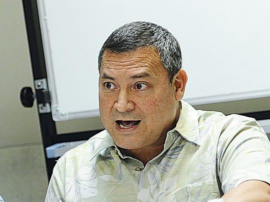 Gov. Eddie Calvo
