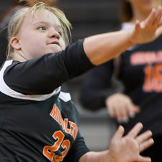 Down syndrome no match for Middleton's Brooke Darling on volleyball court