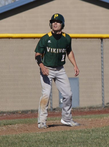 Rance Burger/News-Leader Parkview center fielder Hunter
