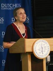 Dutchess Community College president, Pamela Edington