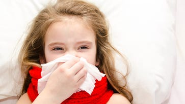 Early symptoms of whooping cough include runny nose and low-grade fever.