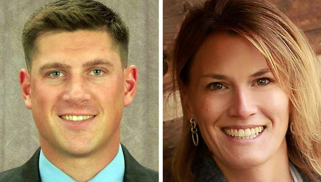 Republicans Kevin Nicholson and Nicole Schneider are considering challenging U.S. Sen. Tammy Baldwin in next year's election.