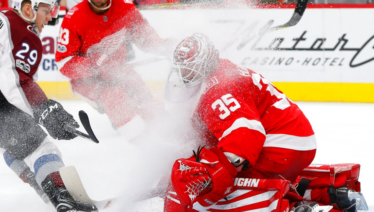 777fd98e0 A link has been posted to your Facebook feed. Detroit – The Red Wings blew  a two-goal lead in the third period and a one-goal lead with 46 seconds  left to ...