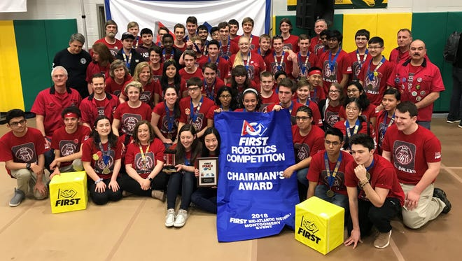 Hunterdon Central High School won the FIRST Mid-Atlantic Robotics District Chairman's Award at the recently held Montgomery High School's FIRST Robotics Competition.